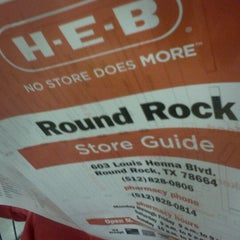 Photo taken at H-E-B by Ron S. on 11/21/2011