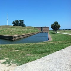 Photo taken at Fort Pulaski by Deborah S. on 7/10/2012