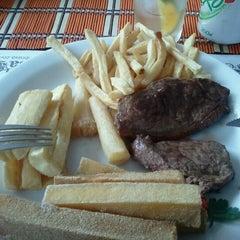 Photo taken at Baiah Brasa Restaurante by Rodrigo R. on 6/30/2011