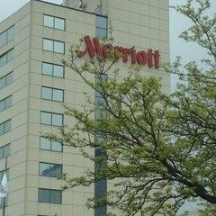 Photo taken at Chicago Marriott Schaumburg by Joey R. on 4/14/2012