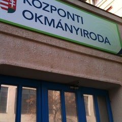 Photo taken at Központi Okmányiroda by Divella R. on 1/29/2011
