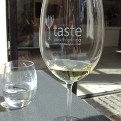 Photo taken at Taste South Africa by Elena D. on 5/5/2012