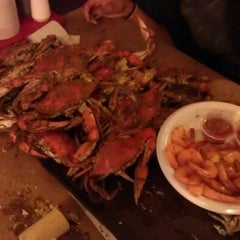 Photo taken at Bottom Of The Bay Seafood by Stephenie B. on 2/12/2012