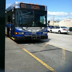 Photo taken at Olympia Transit Center by =^.^= on 7/16/2012