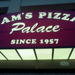 Photo taken at Sam's Pizza Palace by Celeste F. on 6/10/2012