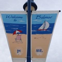 Photo taken at Belmar Beach by Lisette V. on 8/19/2012