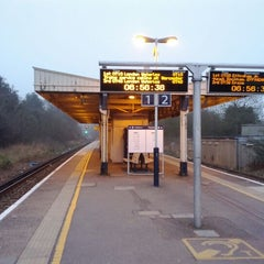 Photo taken at Stoneleigh Railway Station (SNL) by Fred J. on 3/26/2012