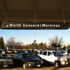 Photo taken at North Concord/Martinez BART Station by Daniel L. on 1/11/2012