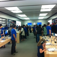 Photo taken at Apple Store, Pacific Centre by Evgenia M. on 8/19/2012