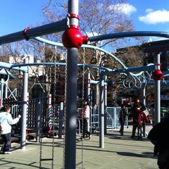 Photo taken at Hester Street Playground by Mam Y. on 12/4/2011