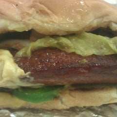 Photo taken at Five Guys by S L. on 7/22/2012