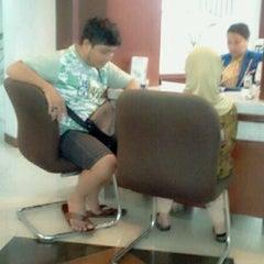 Photo taken at Bank BRI by Larastya D. on 3/20/2012