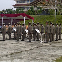 Photo taken at Lapangan Upacara Kantor Bupati by Tengku Z. on 3/19/2012