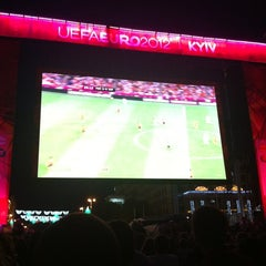 Photo taken at Official Fan Zone of UEFA EURO 2012 by Gev on 6/27/2012