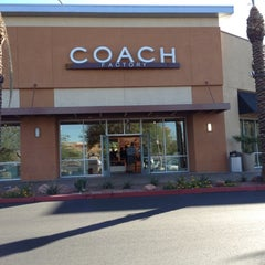 Photo taken at Coach Factory Store by Michael C. on 10/28/2011