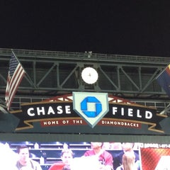 Photo taken at Chase Field by D.j. S. on 6/7/2012