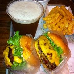 Photo taken at Shake Shack by Morihiko E. on 6/17/2012