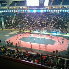 Photo taken at Suite Level at Xcel by Rachel E. on 2/19/2012