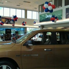 Photo taken at Fair Oaks Chrysler Jeep Dodge by Mike E. on 9/28/2011