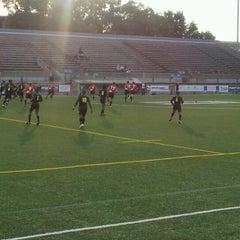 Photo taken at Lamport Stadium by Rene S. on 7/21/2012