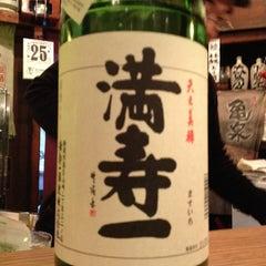 Photo taken at 酒庵 酔香 by Sachiyo K. on 1/25/2012