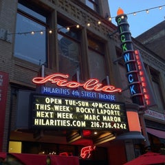 Photo taken at Hilarities 4th Street Theatre by Patrick S. on 8/19/2011