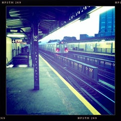Photo taken at MTA Subway - 30th Ave (N/Q) by James C. on 1/20/2011
