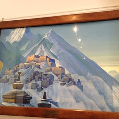 Photo taken at Nicholas Roerich Museum by Marie D. on 4/17/2012