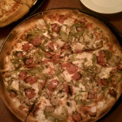 Photo taken at Prince Pizzeria by George K. on 1/6/2012