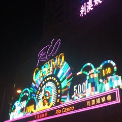 Photo taken at Rio Hotel & Casino 利澳酒店 by Osamu S. on 10/19/2011