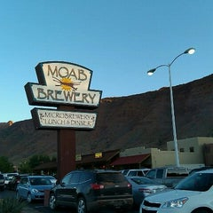 Photo taken at Moab Brewery by Drew V. on 7/25/2011