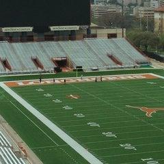 Photo taken at Darrell K. Royal-Texas Memorial Stadium by Caleb on 2/29/2012
