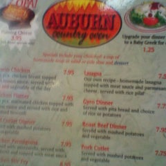 Photo taken at Auburn Country Oven by Tammy V. on 9/2/2011