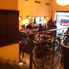 Photo taken at Pravda Café by Justin H. on 4/14/2011
