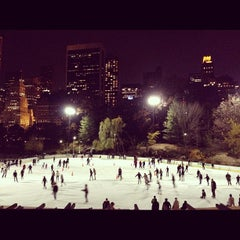Photo taken at Wollman Ice Skating Rink by @JuliusOCloset o. on 11/20/2011