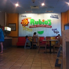 Photo taken at Rubio's by Chris F. on 5/22/2012
