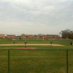 Photo taken at Utica High School by Thomas M. on 3/23/2012