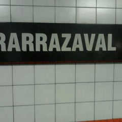 Photo taken at Metro Irarrázaval by Miguel M. on 8/19/2012