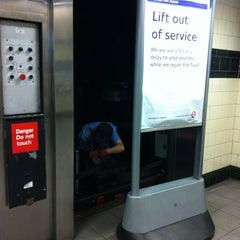 Photo taken at Tufnell Park London Underground Station by Dan N. on 8/17/2011