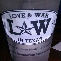 Photo taken at Love & War in Texas by Scott G. on 8/26/2011