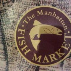 Photo taken at Fish manhattan mid valley by Hafizi H. on 10/15/2011