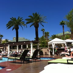 Photo taken at Four Seasons Hotel Las Vegas Pool by Kris S. on 7/2/2012