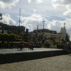 Photo taken at Ruínas de São Francisco by Manu S. on 8/19/2012