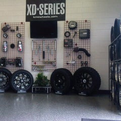 Photo taken at Allen Tire Company by Jason A. on 2/16/2011