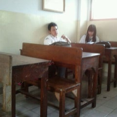 Photo taken at Sekolah Santo Paulus Jakarta by Hendry D. on 1/19/2012
