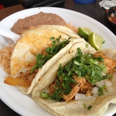 Photo taken at Taqueria Mixteca by Jessica W. on 8/21/2012