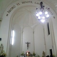 Photo taken at Kapel Hati Kudus Yesus by Martha M. on 9/8/2012