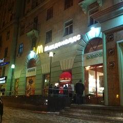 Photo taken at McDonald's by Roman K. on 3/8/2012