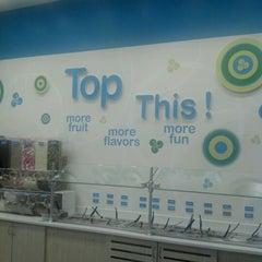 Photo taken at 32 Degrees A Yogurt Bar by Sharon S. on 5/28/2012