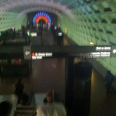 Photo taken at WMATA Red Line Metro by Shrita S. on 3/22/2012